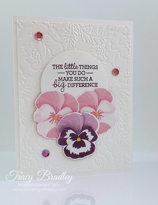 Pretty Flowers Embossing Folder