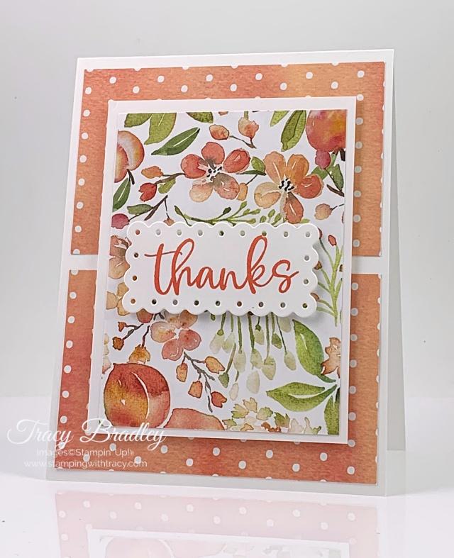 You're a Peach Designer Series Paper