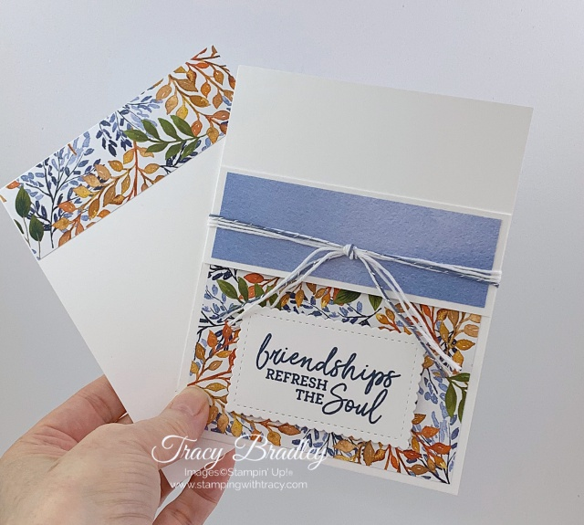 Pocket Card Beauty of the Earth Designer Series Paper