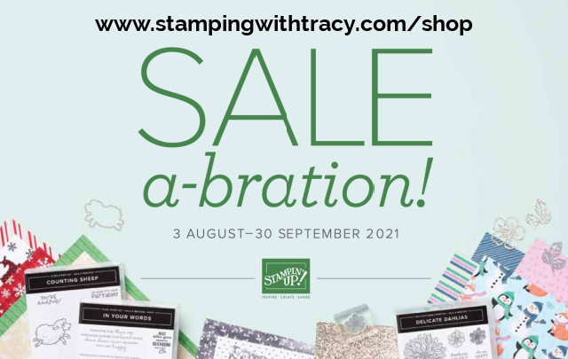 Mini Catalog Stamping with Tracy