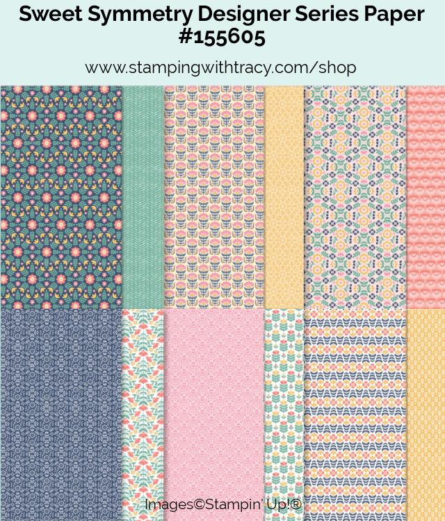 Sweet Symmetry Designer Series Paper