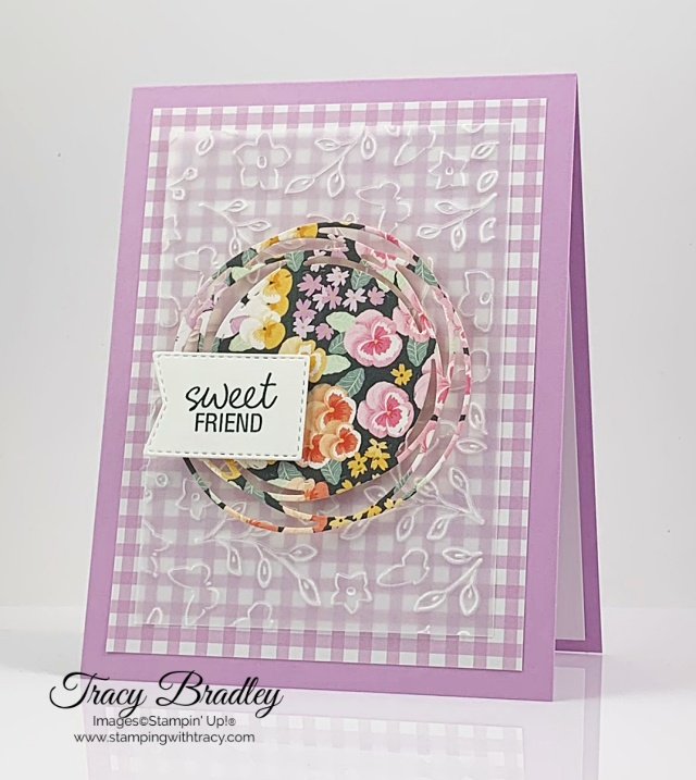 Painted Labels Stampin Up