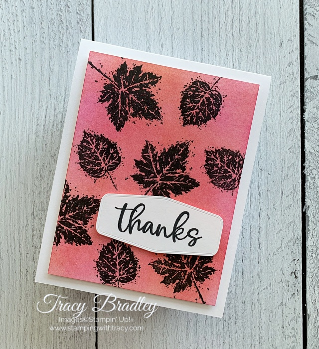 Gorgeous Leaves Stamping with Tracy