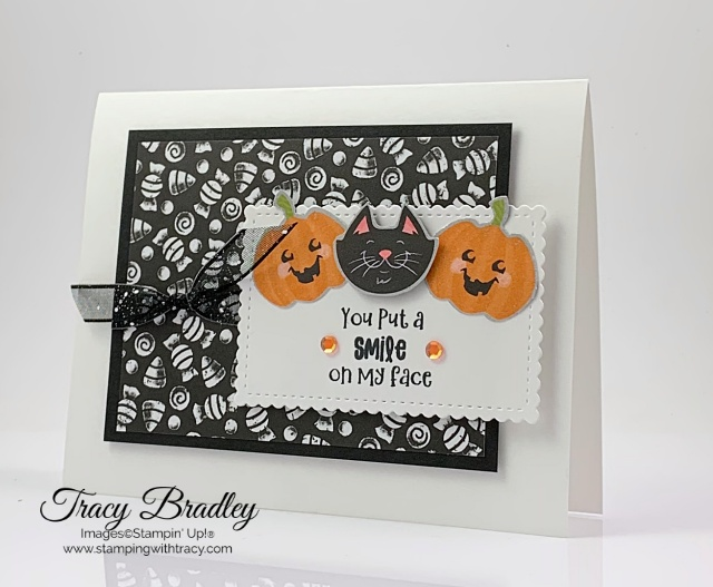 Cute Halloween Designer Series Paper