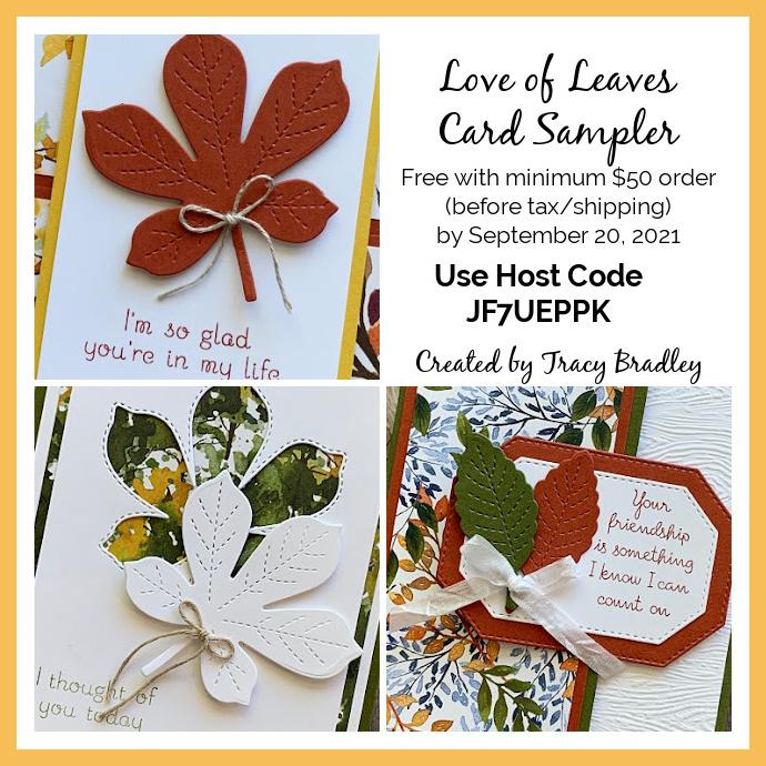 Love of Leaves Card Sampler