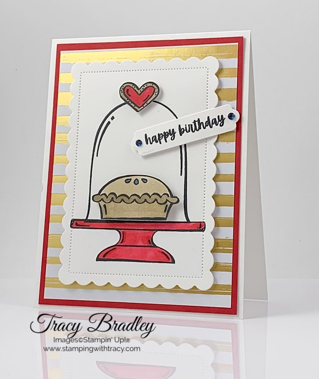 Sweets & Treats stamp set Stamping with Tracy