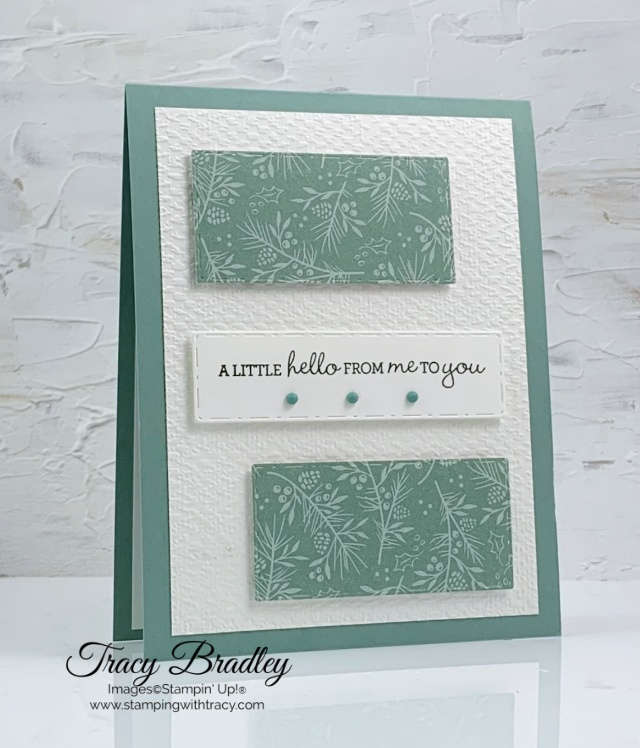 Picture This Dies Stamping with Tracy