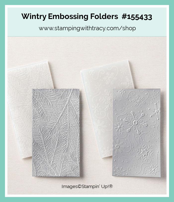 Wintry 3D Embossing Folders